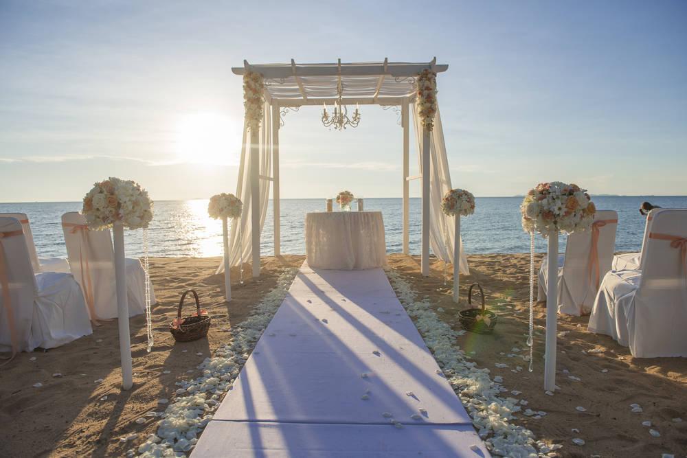 ¿Cómo casarse en la playa?