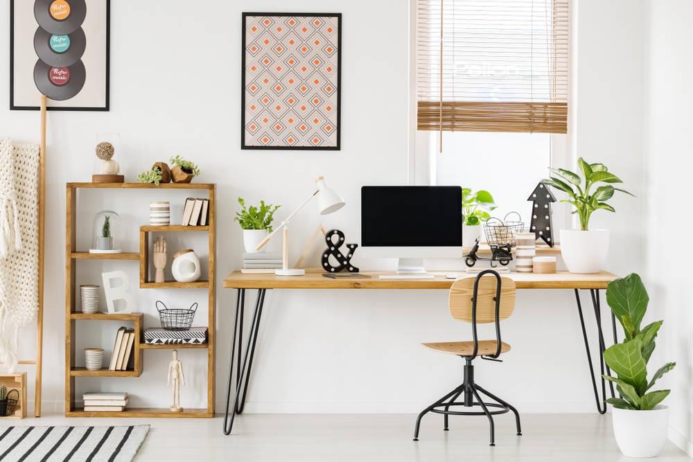 Es tiempo de dar vida en el hogar a tu zona de trabajo